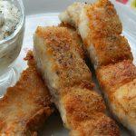 рыба в панировочных сухарях