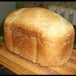 домашний хлеб на дрожжах